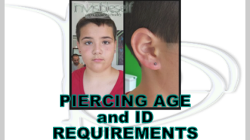 Permalink to: Piercing Ages & ID Requirement