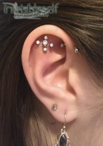 Cartilage / Helix Piercings